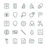 Medical and Health Cool Vector Icons 4 Stock Images