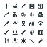 Medical and Health Cool Vector Icons 3 Stock Photography