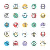 Medical and Health Cool Vector Icons 2 Stock Images