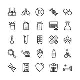Medical, Health and Fitness Line Vector Icons 2. This Medical and Health Vector Icons Pack is filled with emergency and health related s that will prove to be so Stock Photo