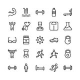 Medical, Health and Fitness Line Vector Icons 7. This Medical and Health Vector Icons Pack is filled with emergency and health related s that will prove to be so Royalty Free Stock Photo