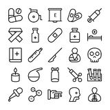 Medical, Health and Hospital Line Vector Icons 2 vector illustration