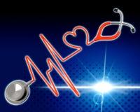 Medical Health Indicates Preventive Medicine And Cardiac Stock Photography