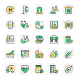Medical and Health Vector Icons 1. Health ! Here is a collection Medical and Health icons. This Icons set is composed to everything from medicine, medical Royalty Free Stock Images