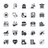 Medical and Health Vector Icons 1 Royalty Free Stock Image