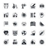 Medical and Health Vector Icons 4 Stock Photography