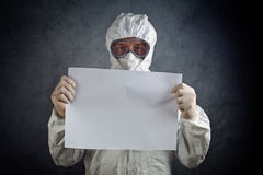 Medical Health Worker in Protective Clothing Royalty Free Stock Images
