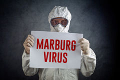 Medical Health Worker in Protective Clothing Royalty Free Stock Photography
