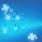 Medical on healthcare and background vector. Illustration Stock Images