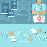 Medical and healthcare concept professionals doctors hospital Royalty Free Stock Photo
