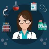 Medical healthcare design Stock Image
