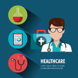 Medical healthcare design. Illustration eps10 graphic Stock Images