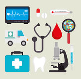 Medical healthcare design. Royalty Free Stock Photography