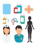 Medical healthcare design. Stock Photo