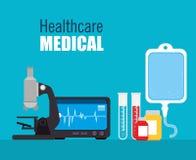 Medical healthcare design. Stock Images