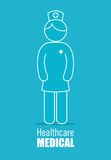 Medical healthcare design. Stock Photography