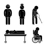 Medical healthcare design. Stock Image