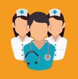 Medical healthcare design. Royalty Free Stock Images