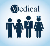 Medical healthcare. Design, vector illustration eps10 graphic Royalty Free Stock Photography