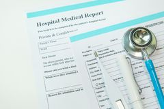 Medical healthcare device close up image background. stock image