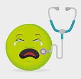 Medical healthcare graphic design Royalty Free Stock Photography