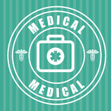 Medical healthcare graphic. Design, vector illustration eps10 Stock Photos