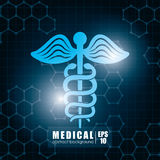 Medical healthcare graphic Stock Photo