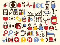 50+ Medical and Healthcare Icon. Vector File EPS10 Stock Photos