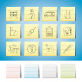 Medical and healthcare Icons. Vector Icon Set Stock Photo
