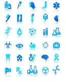 Medical Healthcare Icons Collection, Symbols Stock Photo