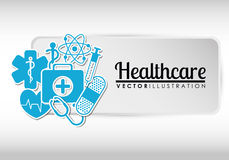 Medical healthcare icons Stock Images
