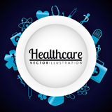 Medical healthcare icons Royalty Free Stock Photo