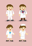 Medical and Healthcare Professionals Vector Icons Stock Images