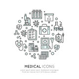 Medical and Healthcare Research  Items Stock Images