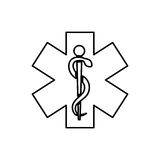 Medical healthcare symbol Royalty Free Stock Photography