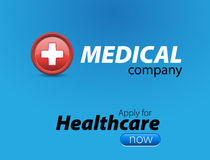 Medical healthcare website template Stock Photo