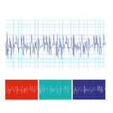 Medical heartbeat Stock Images