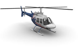 Medical Helicopter Front Stock Photos