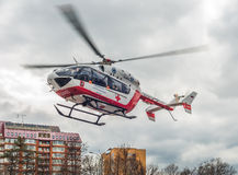 Medical helicopter. Stock Image