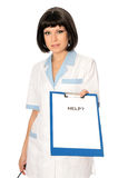 Medical help Stock Photography