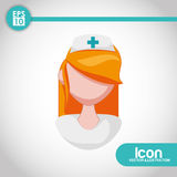 Medical and hospital icon Royalty Free Stock Images