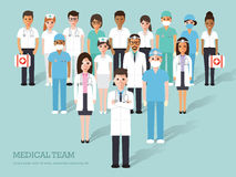 Medical and hospital icons Royalty Free Stock Images