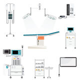 Medical hospital with medical equipment Stock Photos