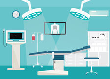 Medical hospital surgery operation room. Royalty Free Stock Photos