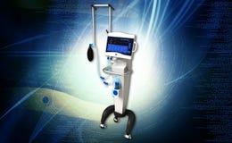 Medical hospital ventilator respiratory unit Royalty Free Stock Photo