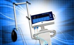 Medical hospital ventilator respiratory unit Stock Photo