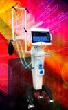 Medical hospital ventilator respiratory unit system Stock Images
