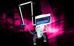 Medical hospital ventilator respiratory unit system Stock Photography