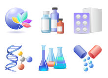 Medical icon. Icons set for medical company vector illustration