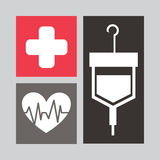 Medical icon design Royalty Free Stock Images